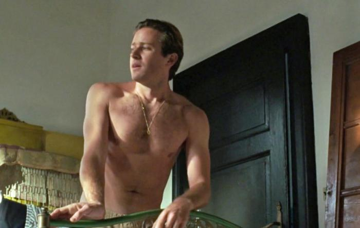 """Armie Hammer in """"Call Me By Your Name"""""""
