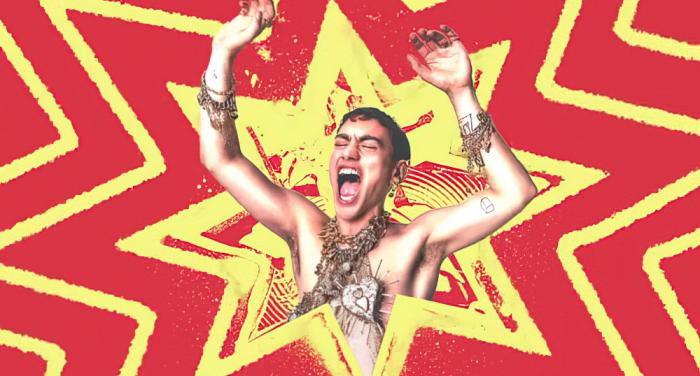 """Olly Alexander in a screenshot for his new single """"Starstruck"""""""