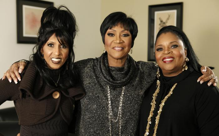Nona Hendryx, from left, Patti LaBelle, and Sarah Dash, of the group LaBelle, pose for a portrait in Los Angeles on Jan. 29, 2009.